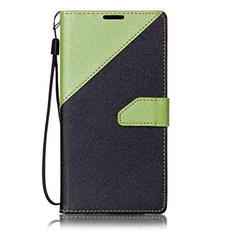Nancen Compatible with Handyhülle LG G Stylo 2 / LG Stylus 2 / LG Stylus 2 Plus LS775 K520 (5,7 Zoll) Hülle PU Leder Tasche Schutzhülle Flip Case Wallet für