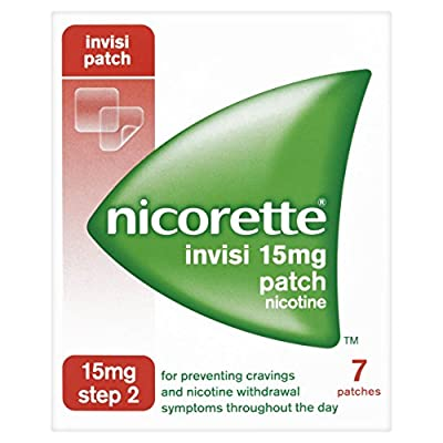 Nicorette 15 mg Invisi Patch - Pack of 7 from Johnson & Johnson Ltd.
