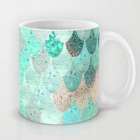 SUMMER MERMAID Special-Tazza in ceramica classica, materiale