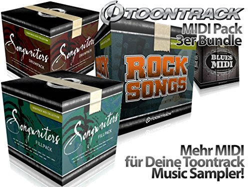 ToonTrack MIDI-Pack Music and More Store 3er Bundle (Download)