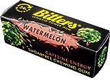 BITTERS - energy chewing gum with caffeine and taurine, box of 5 units of 3-Pack WATERMELON - BITTERS - Energie Kaugummi mit Koffein und Taurin, Schachtel mit 5 Einheiten 3er-Pack WASSERMELONE