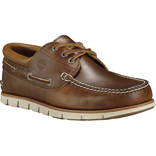 Timberland Tidelands 3 Eye Boat Slip On Shoes UK 9 Sahara Brando