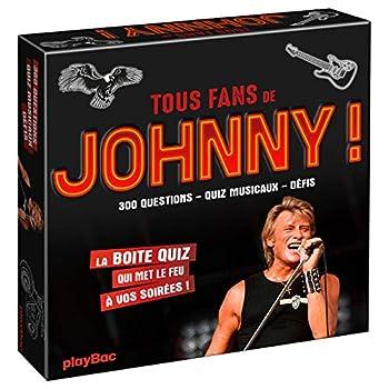 Boîte Quiz - Johnny : mettez le feu à vos soirées