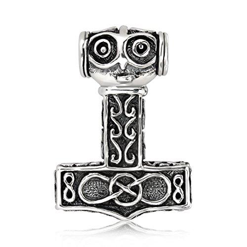 Sistakno - Colgante plata ley 925 amuleto vikingo