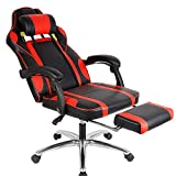 WARM WORM Racing Gaming Office Chair Swivel Computer Chair Adjustable Lifting Desk Chair
