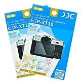 "2 Packs JJC 0.01"" Ultra-thin Tempered Clear Optical Glass Camera LCD Screen Protector for Fuji Fujifilm X-E3 X-T10 X-T20 / XE3 XT10 XT20 Camera"