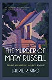 Front cover for the book The Murder of Mary Russell by Laurie R. King