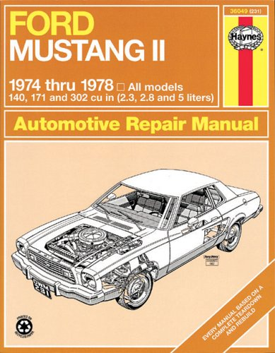 ford-mustang-ii-1974-78-all-models-owners-workshop-manual-usa-service-repair-manuals