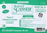 Solved Scanner CA IPCC Group- II Paper-6 Auditing & Assurance