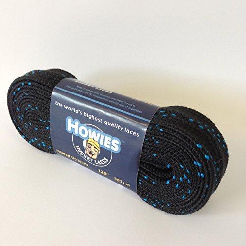 Howies Konturen Eishockey Skate Schnürsenkel alle Größen alle Farben Skaten Inline, schwarz