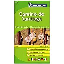 Michelin Camino de Santiago: Straßen- und Tourismuskarte 1:150.000 (MICHELIN Zoomkarten)