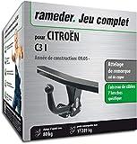 Rameder Attelage démontable avec Outil pour CITROËN C3 I + Faisceau 7 Broches...