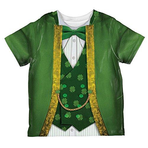 St Patricks Tag Kobold Kostüm ganzen Kleinkind T Shirt Multi 4 (Kostüm Baby Kobold)