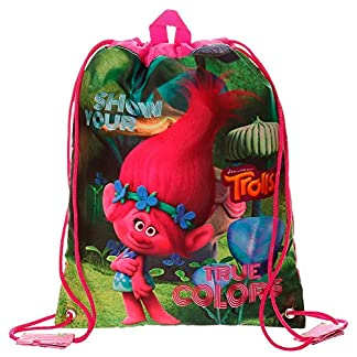 Trolls True Colors Mochila Infantil, 34 cm, 0.92 litros