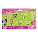 Joy Toy 71108Minnie 7jours et boucles d'oreilles Anneaux autocollant sur carte Backer