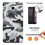 003597 - Grey Camo Army Camouflage Design Samsung Galaxy