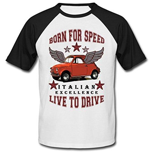 teesandengines-mens-fiat-500-italian-vintage-car-born-for-speed-black-short-sleeved-t-shirt-size-lar