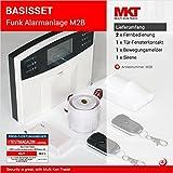 Model M2B GSM Funk Alarmanlage mit LCD Display + Alarm SMS Anruf * Service + Support + Garantie * 99 Zonen erweiterbar * Deutsche Anleitung * Alarmanlagen Basisset