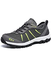 Gaatpot Casual Zapatos Para Hombre de Trekking Sneakers Ligeros Running Zapatilla Senderismo Para de Deporte Exterior Para Suela Antideslizante 39-48