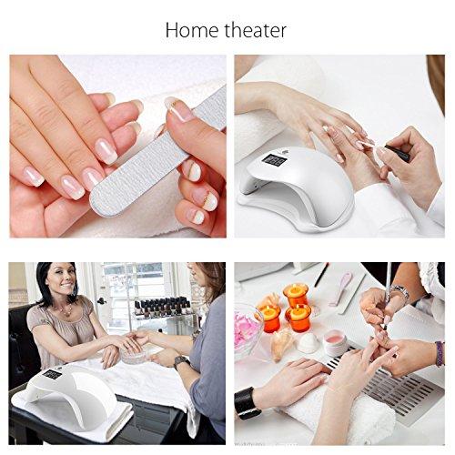 UV LED Nagellampe – Nageltrockner mit 4 Zeiteinstellungen - 8