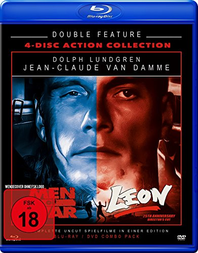 Leon + Men of War - Double Feature - Limited Edition (2 Blu-Rays + 2 DVDs) [Blu-ray]