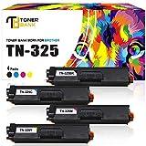 Toner Bank 4Pack TN325 TN320 Kompatibel für Brother TN-325BK TN-325Y TN-325C TN-325M TN 320 für Brother HL-4150CDN HL-4140CN MFC-9460CDN MFC-9970CDW DCP-9270CDN 4570CDW DCP-9055CDN MFC-9465CDN