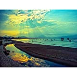 Nature Landscape Vietnam Danang Sun Beam Cloud Sea Blue