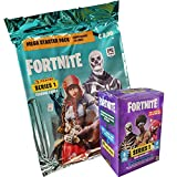 Fortnite Panini Trading Cards - 1 Blaster Box + 1 Starter
