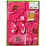 Tom And Jerry Cotton Baby Boy's And Girl's Clothing Gift Set (tomandjerry_2_Pink_3-6 Months)