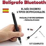Bolígrafo Bluetooth + Pinganillo Vip Pro SuperMini KIT COMPLETO