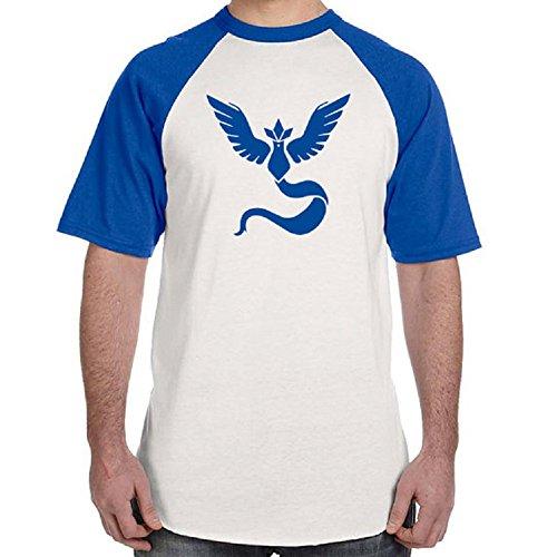 BOMOVO Herren T-Shirt POCKET GO Mit Rundhalsausschnitt Blau