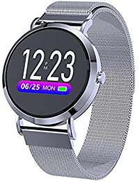 HkFcle Smart Watch Lady, Color Smart Bracelet, Waterproof Watch, Wristband Activity Tracker (Color : #3)