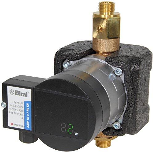Biral Trinkwasser-Umwälzpumpe AXW 15-0,7 RV KH