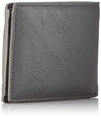 Element Herren Daily Wallet Geldbörse, 1x7x9 cm Grau (Stone Grey)