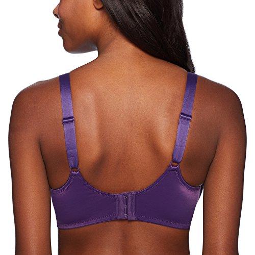 Maidenform Damen Minimizer BH Maidenform Tailored with Lace Trim Lilyette Purple Vista