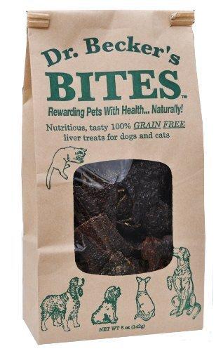 Dr. Becker's Bisse von Getreide behandelt der Leber ohne für Hunde und Katzen, 5 (Behandeln Fleck Super)