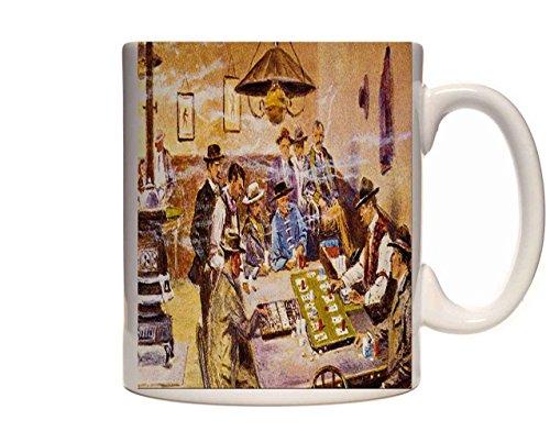 Mug 1191 522087 Faro Layout In Mint Saloon Olaf C Seltzer Ceramic Cup Gift Box