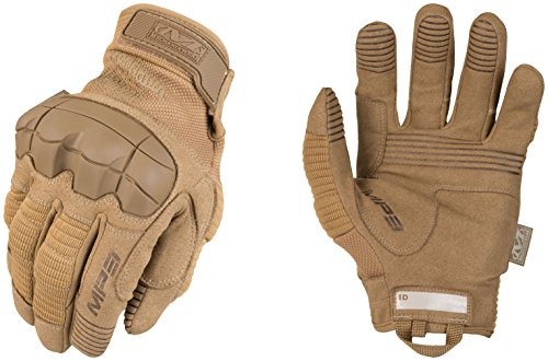 Mechanix Wear Handschuhe - m-Pact 3, braun, MP3-72-009, Coyote, Medium