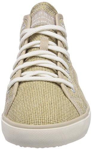 ESPRIT Nita Bootie, Sneaker alta donna Beige (Beige (251 brittle beige))