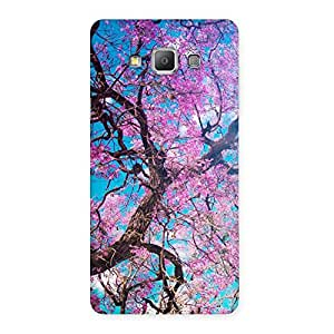 Premier Cherry Blossoms Back Case Cover for Galaxy A7