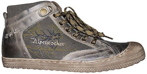 Stockerpoint Herren Schuh 1297 Hohe Sneakers, Braun (Braun Vintage), 43 EU