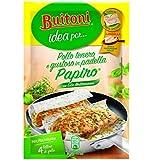 BUITONI IDEA PER...POLLO TENERO E GUSTOSO PAPIRO CON ERBE MEDITERRANEE fogli di carta speziata 4 pezzi