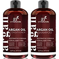 Art Naturals Organic Moroccan Argan Oil Shampoo and Conditioner Set (2 x 16 Oz)