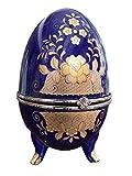 Porzellan Ei Schmuckdose Osterei Porzellanei Schmuckei Antikstil porcelain egg
