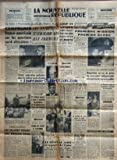 Telecharger Livres NOUVELLE REPUBLIQUE LA No 4011 du 21 11 1957 DE RABAT A WASHINGTON LE SORT DE L ALGERIE SE JOUE LES ENTRETIENS TUNISO MAROCAINS ONT COMMENCE BOURGUIBA ET MOHAMED V APRES LE MASSACRE DE BONDY ET LA FUSILLADE DE LIVRY GARGAN VASTE OPERATION POLICIERE GAILLARD AUTORISE A POSER LA QUESTION DE CONFIANCE SUR LE PROJET DE LOI CADRE POUR L algerie ulmo est mort a cayenne les salaries veulent une monnaie saine par roche le general amer a regagne le caire tient on l AUTEUR DU DOUBLE CR (PDF,EPUB,MOBI) gratuits en Francaise