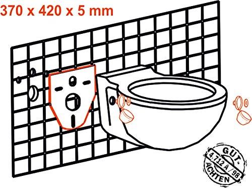 Cornat SSWWC Schallschutz-Set für Wand-WC und Wand-Bidet - 2