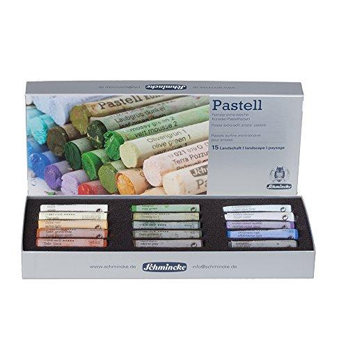 schmincke-pastels-surfins-extra-tendres-pour-artistes-set-en-carton-15-batons-paysage