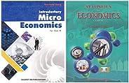 Introductory Microeconomics + Statistics for Economics Class-XI (Set of 2 books)