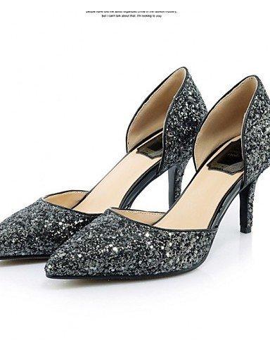 ShangYi Chaussures Femme - Mariage / Décontracté / Soirée & Evénement - Noir / Rouge - Talon Aiguille - Talons / Bout Pointu - Talons -Poils / Red