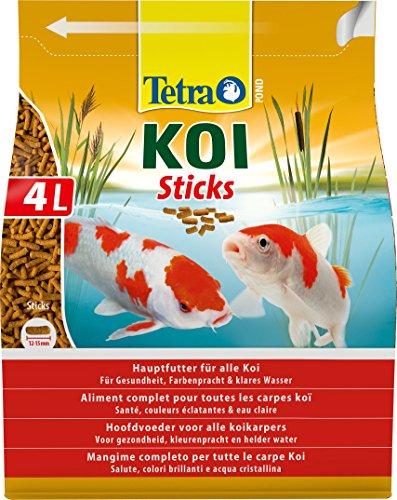 Lascure Delights Delights Mangime per Pesci Pond Koi Sticks lt. 4-Accessori per laghetti, Multicolore, Unica